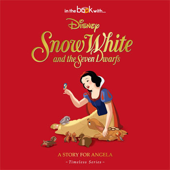 Personalised Disney Snow White Hardback Story Book