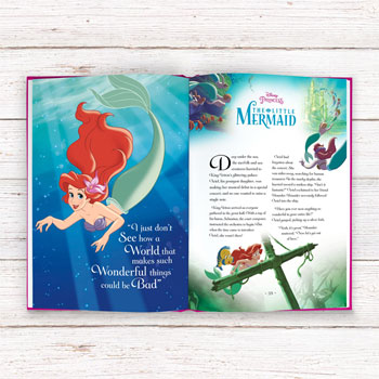 Personalised Disney Princess Collection Hardback Book