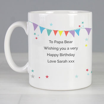Personalised Daddy Bear Ceramic Mug