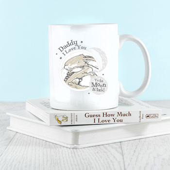 Personalised Guess How Much I Love You Moon And Back Mug