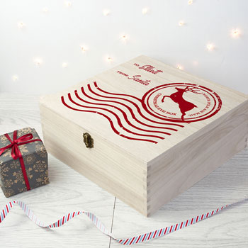 Personalised North Pole Special Delivery Christmas Eve Box