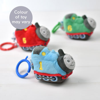 Personalised Thomas the Tank Engine Book & Toy Baby Gift Set