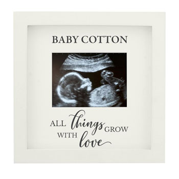 Personalised All Things Grow 4x3 Inch Baby Scan Photo Frame