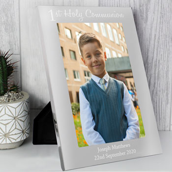 Personalised First Holy Communion 5x7 Aluminium Photo Frame
