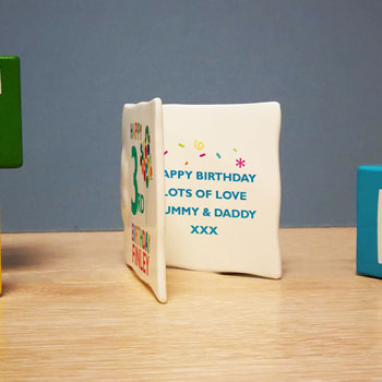 Very Hungry Caterpillar Birthday Personalised Message Card