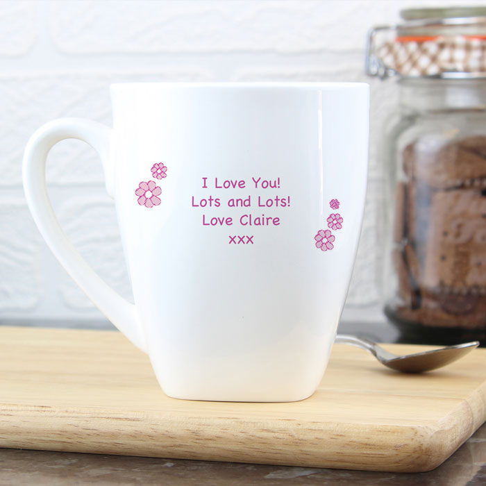 I Love My Mummy Nan Gran Personalised Mug