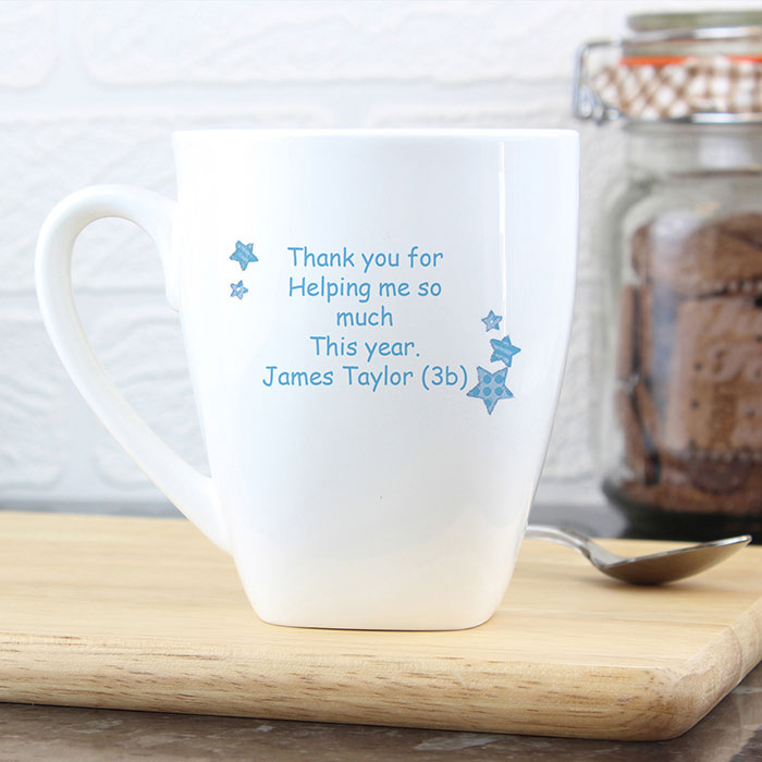 Worlds Best Teacher Personalised Mug Male or Female