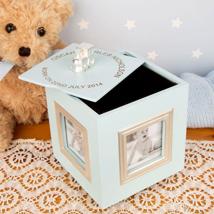 Personalised Musical Keepsake Box Photo Frame