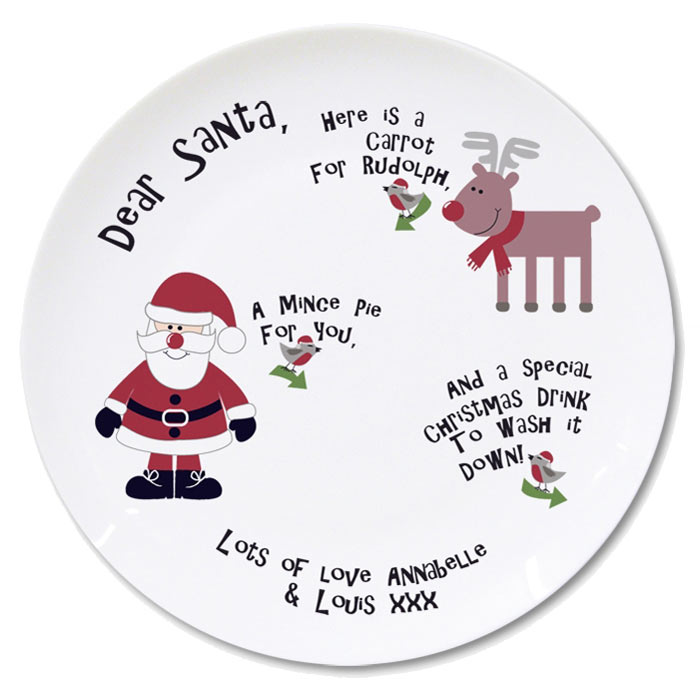 Personalised Mince Pie Plate