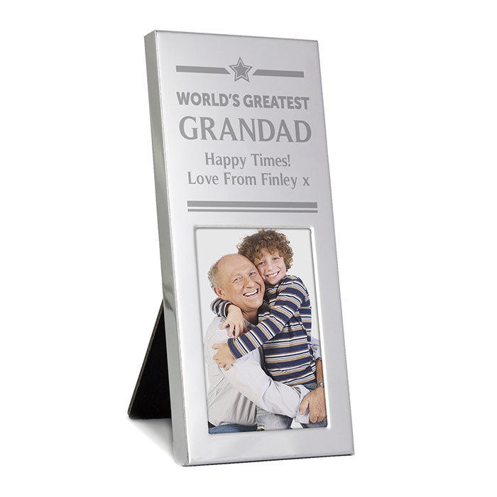 Worlds Greatest Luxury Small Silver Frame