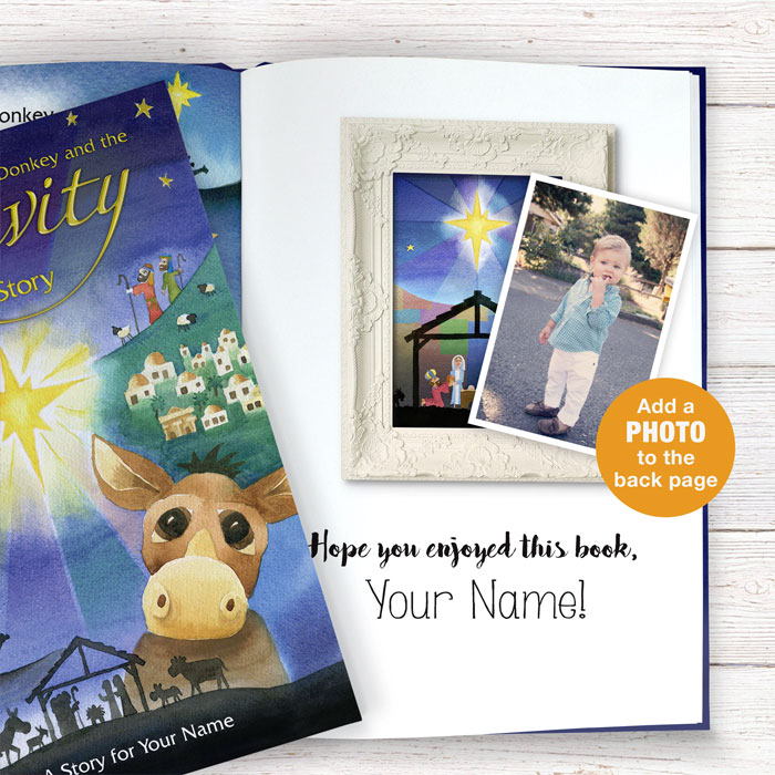 Personalised Nativity Story Book