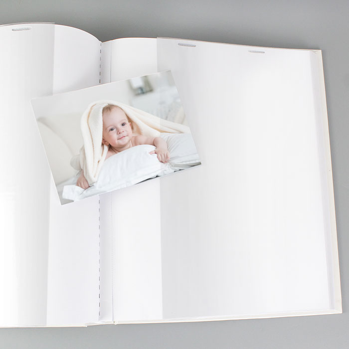 Personalised Girls Pink Whimsical Church Album with Sleeves