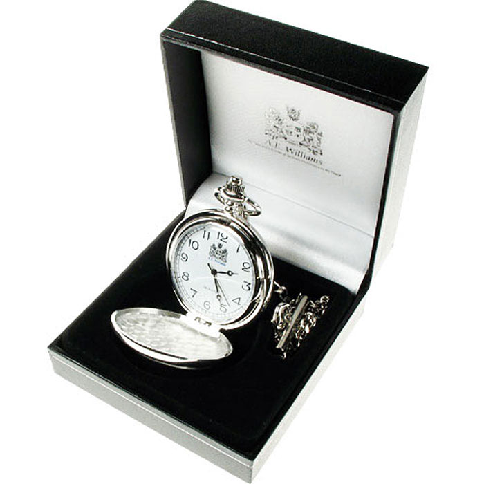 Engraved Best Grandson Pocket Watch