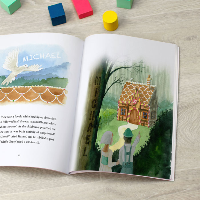 Hansel and Gretel Personalised Childrens Book