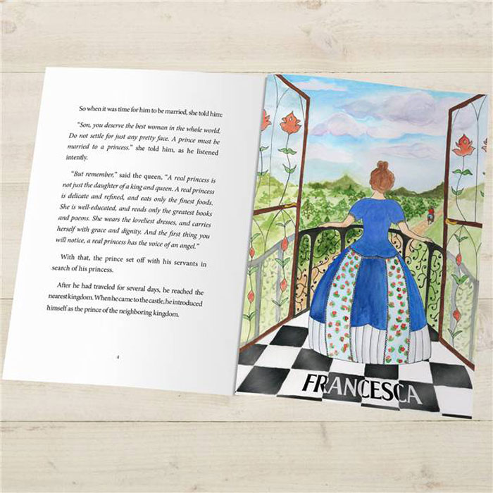 Princess and the Pea Personalised Book