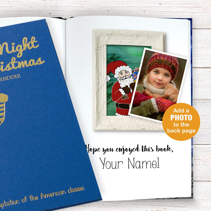 Twas the Night Before Christmas Book Embossed Version