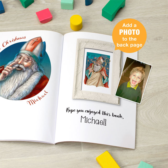 St Nicholas Traditional Folklore Personalised Book