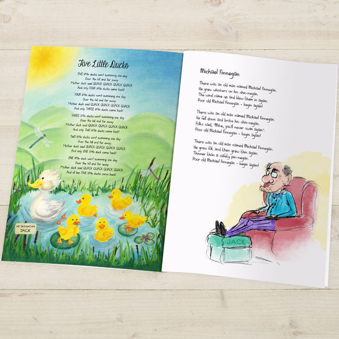 Modern Nursery Rhymes Personalised Childrens Book