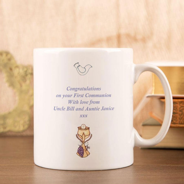 Personalised First Holy Communion Church Design Mug