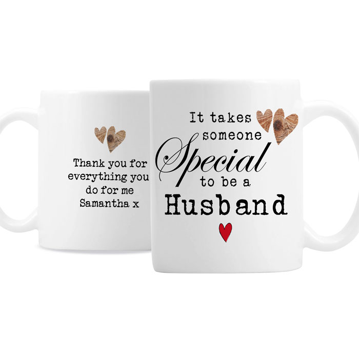 Personalised Someone Special Latte Mug Godparent Dad etc