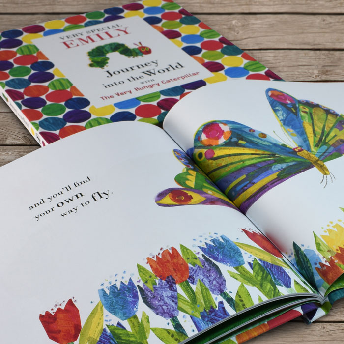 Personalised Very Hungry Caterpillar Very Special You Book