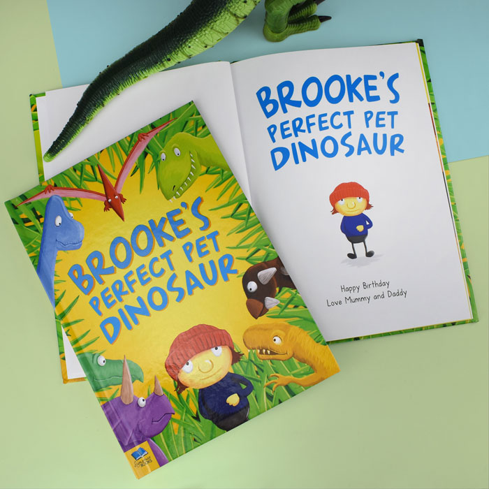 Personalised Perfect Pet Dinosaur Rhyming Story Book