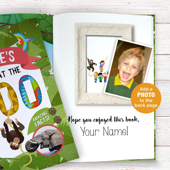 Personalised Your Day at the Zoo Book