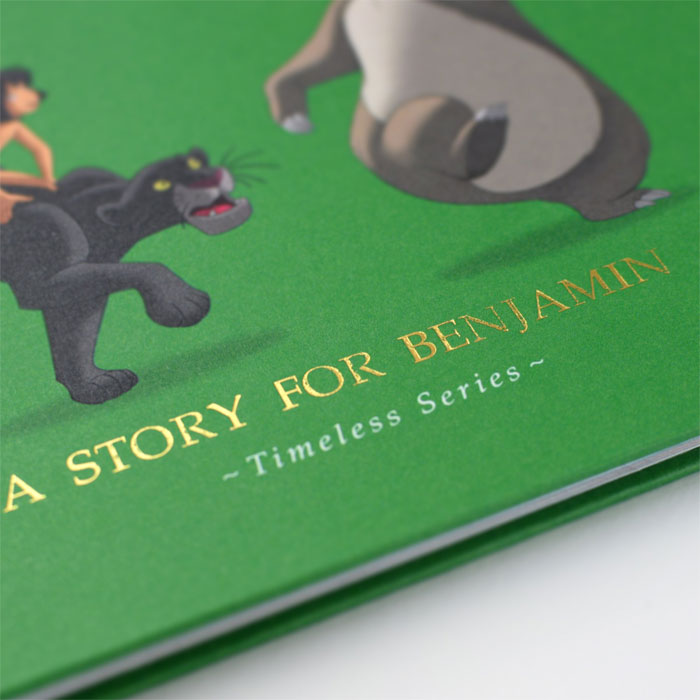Personalised Disney Jungle Book Story Book and Gift Box