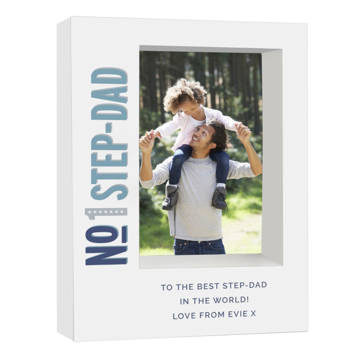 Personalised Number 1 Box Photo Frame 5 x 7