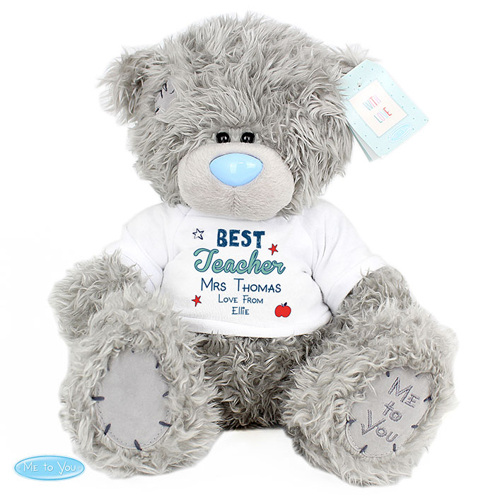 Personalised Me to You Best Teacher Teddy Bear