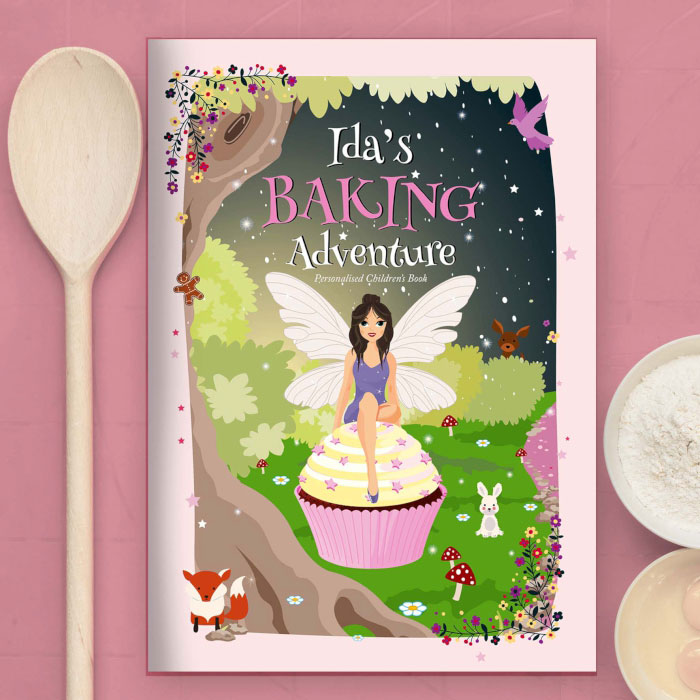 Childrens Personalised Fairy Baking Adventure Book