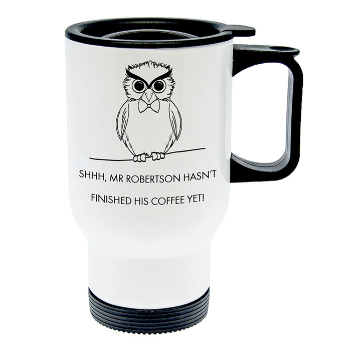Personalised Teachers Shhhh Travel Mug