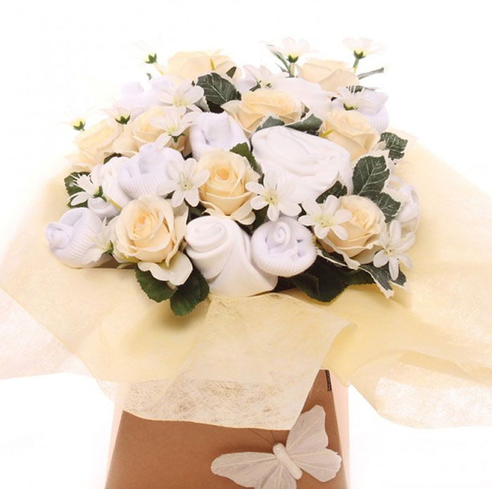 Unisex Neutral Baby Clothing Bouquet