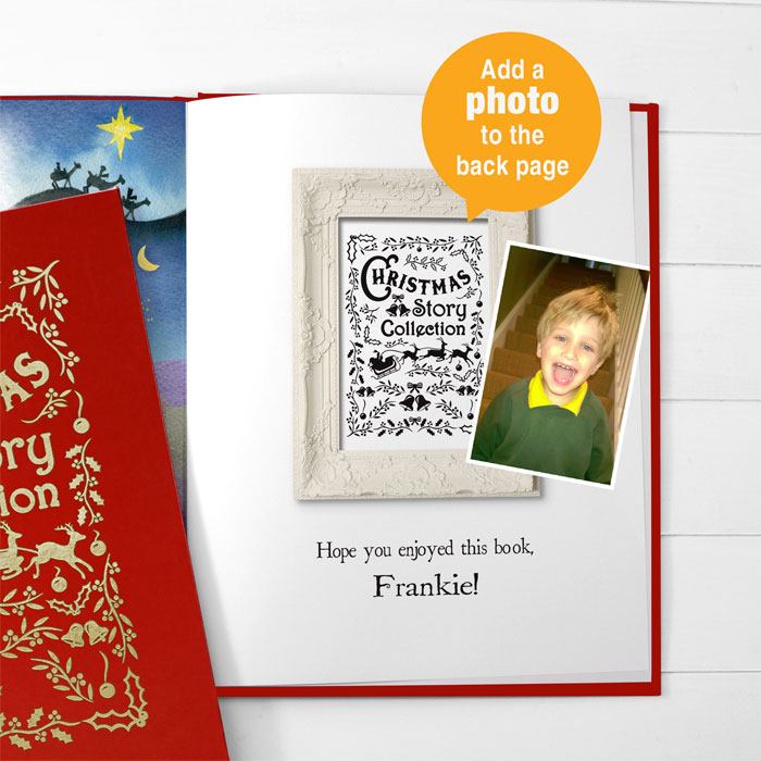 Personalised Christmas Story Collection Book With Gift Box