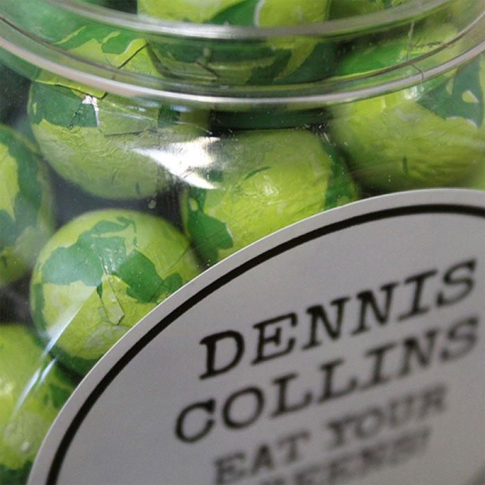 Personalised Jar Chocolate Brussels Sprouts