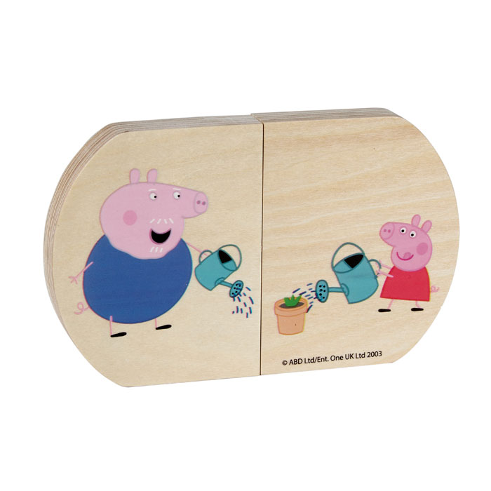 Personalised Peppa Pig Pull and Play Toy