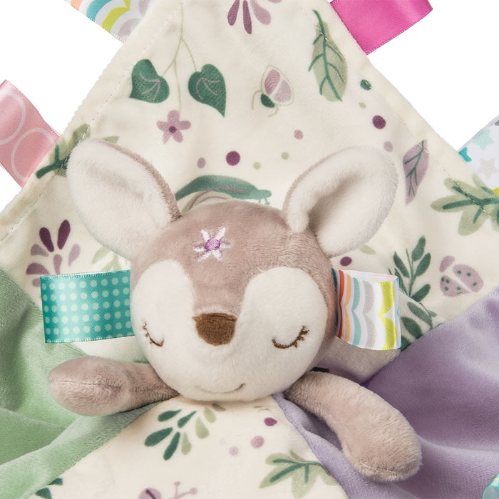 Personalised Flora Fawn Character Taggie Baby Comforter