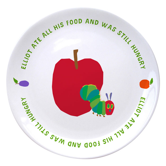 Very Hungry Caterpillar Still Hungry China Name Plate