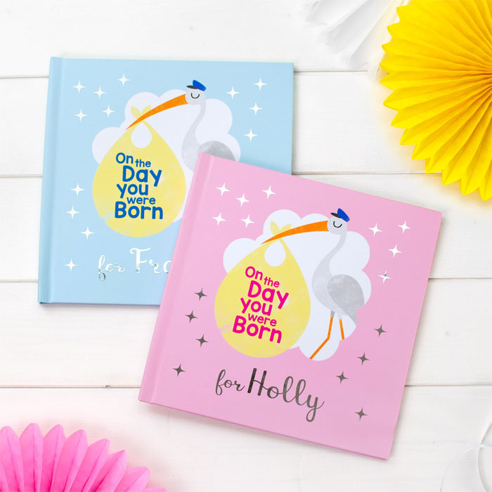 Personalised On the Day You Were Born Book Baby Girl