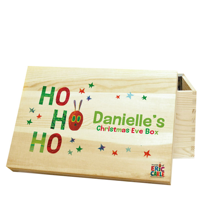 The Very Hungry Caterpillar Personalised Christmas Eve Box