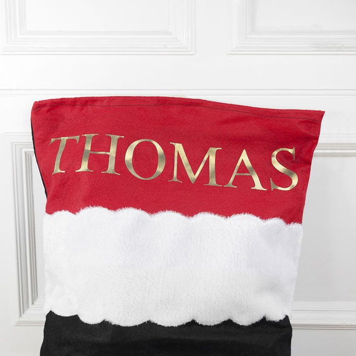 Childrens Personalised Penguin Santa Sack