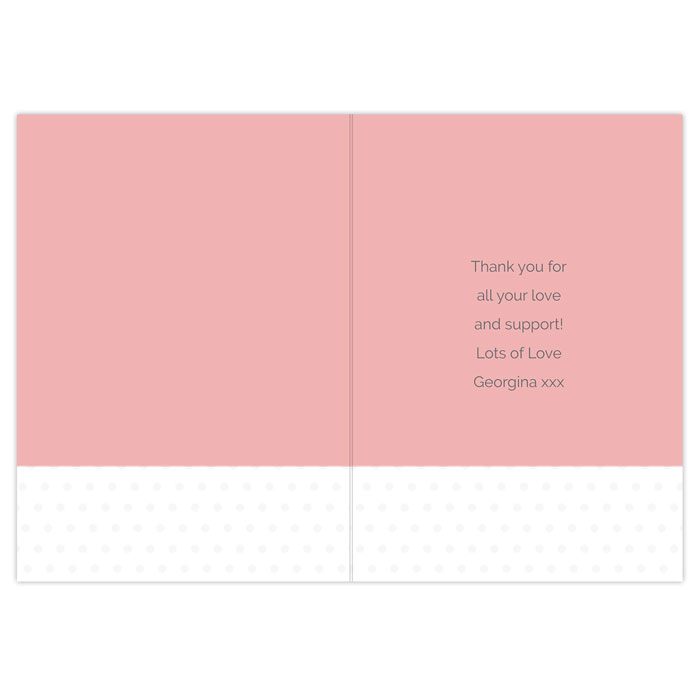 Personalised Like a Mum to Me Stepmum Card