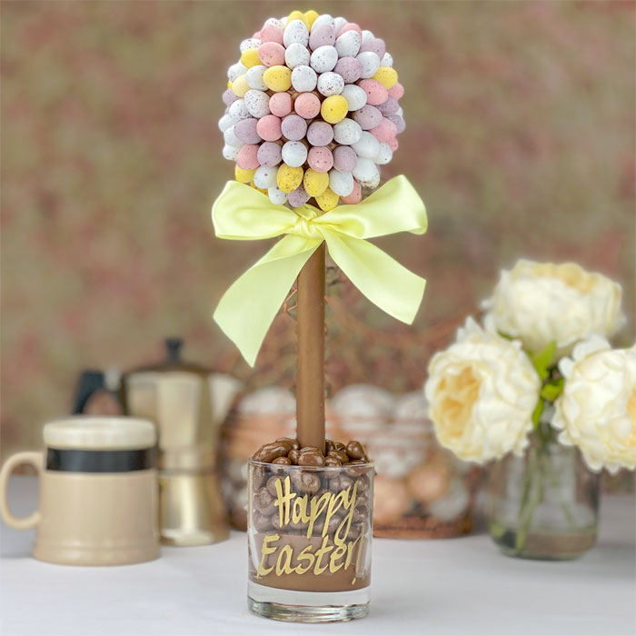 Personalised Cadbury Mini Eggs Tree