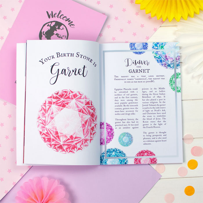 Baby Girl Personalised Book About You Welcome to the World
