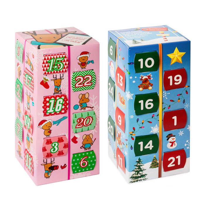 Kids Advent Calendar Box With Haribo Sweets