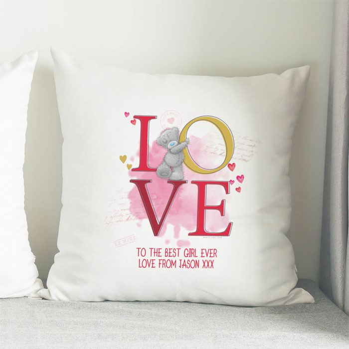 Personalised Me To You Tatty Teddy Love Cushion