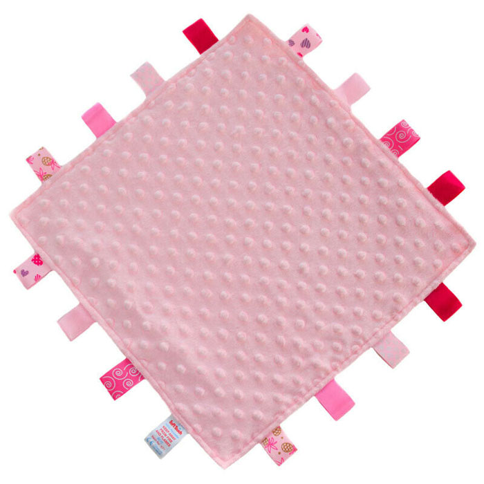 Personalised Pink Taggies Comforter