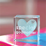 Special Godmother Text Token With Free Spaceform Gift Bag