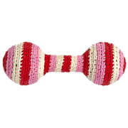 Pink Crochet Baby Rattle by Anne Claire Petit