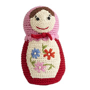 Crochet Russian Doll by Anne Claire Petit
